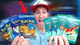 MY SEALED POKEMON CARDS PACKS COLLECTION! *special opening*