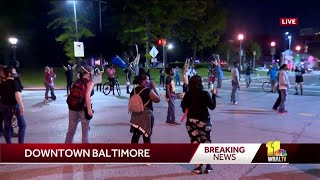 Protesters march to City Hall, demanding justice for George Floyd