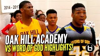 no 1 oak hill academy goes 2 0 at phenom national showcase full game highlights