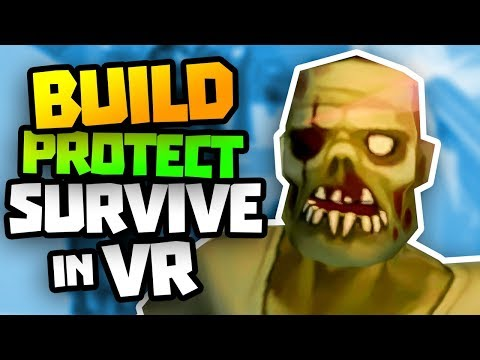 BUILD DEFENCES, SURVIVE THE ZOMBIES! - Undead Development VR Gameplay - VR HTC Vive Gameplay