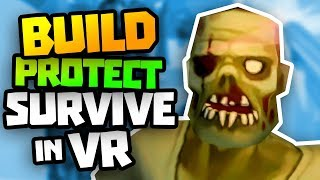 Survive The Zombies! - Undead Development Virtual Reality Gameplay - VR HTC Vive Let