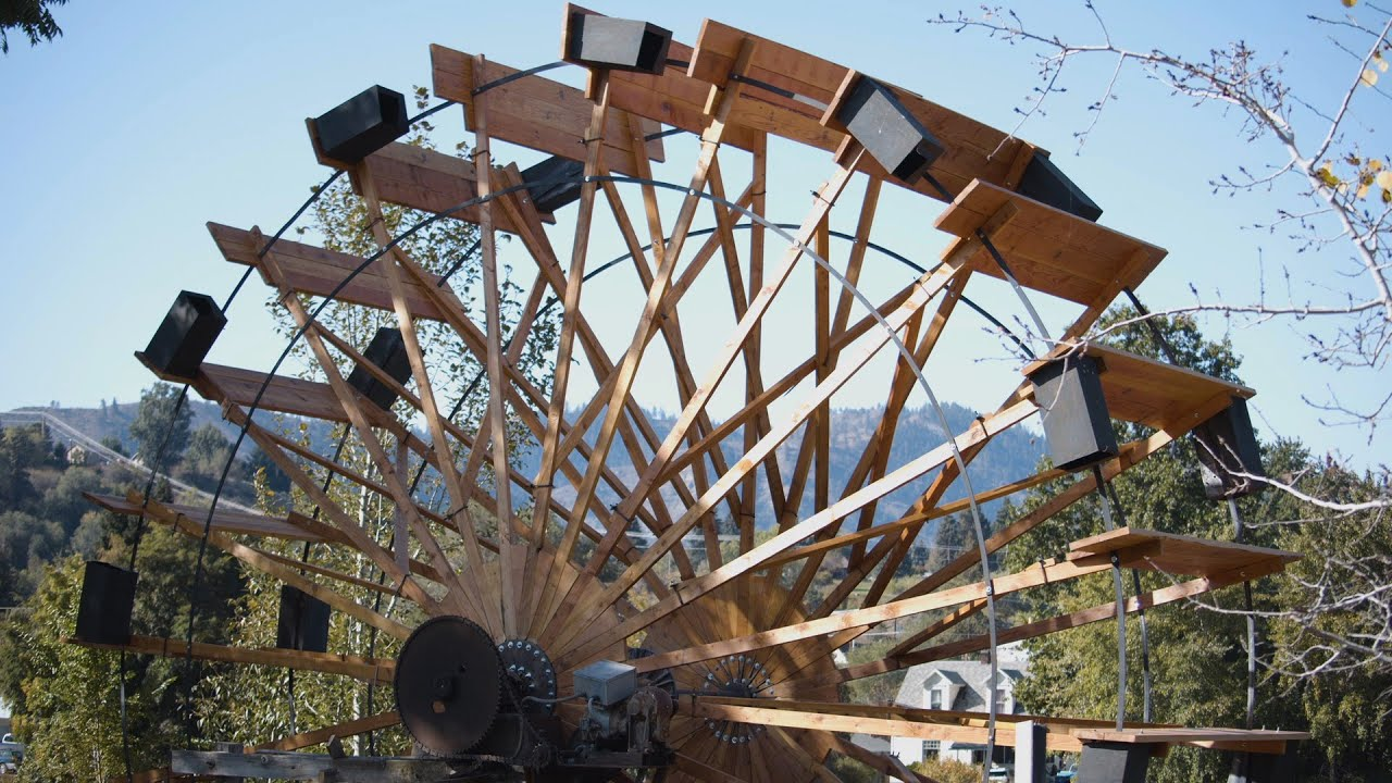 Cashmere water wheel finds new life