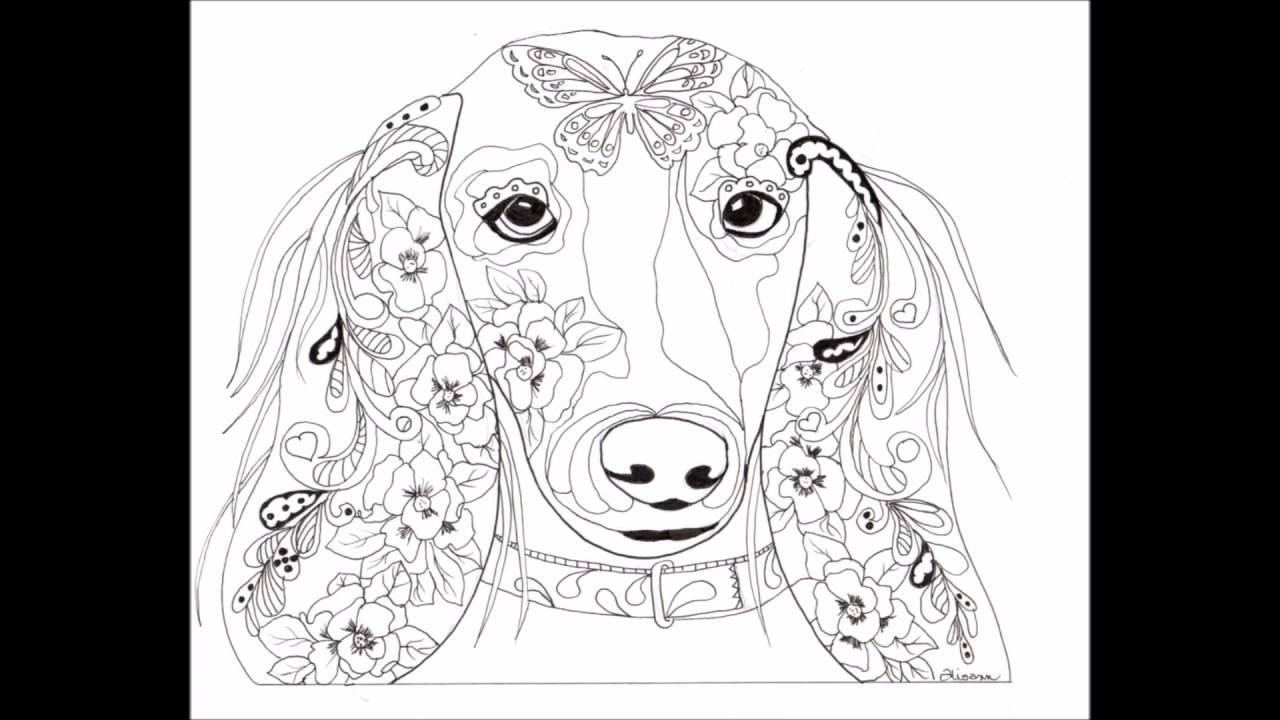 Love Dogs - Feed the Soul Vol 4 A Mindfulness Coloring book for ...