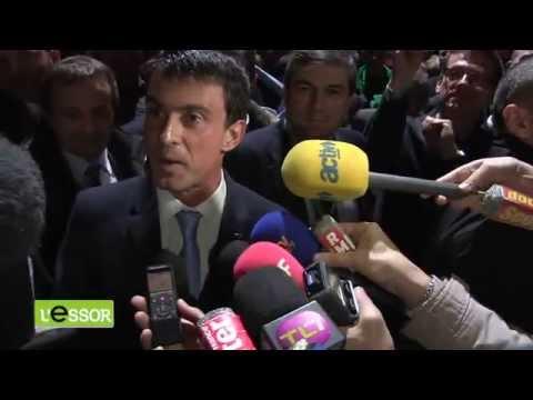 Manuel Valls face aux agriculteurs de la FNSEA