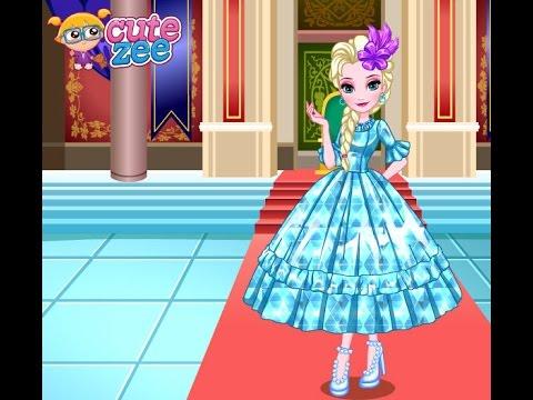 Frozen Elsas Prom Dress Design (Холодное сердце одевалки: выпускной Эльзы) - прохождение игры