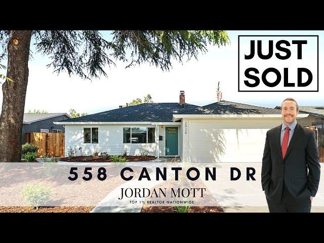558 Canton Dr San Jose, CA 95123 | Jordan Mott
