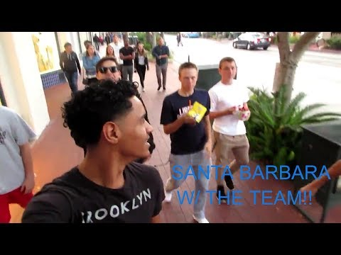 HANGIN IN SANTA BARBARA W/ THE SQUAD! | Kameron Burris