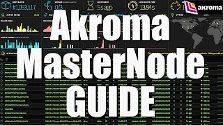 Akroma Masternode Guide - How To Install & Setup Your Own Akroma MN Full Tutorial