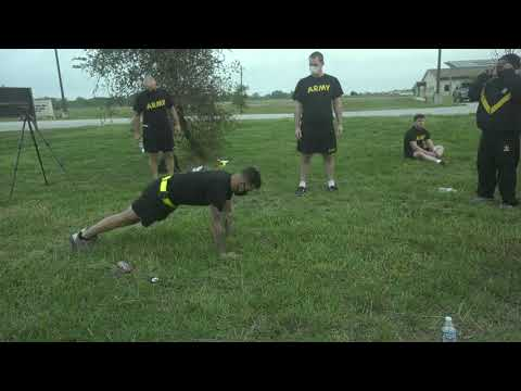 Engineers With The U.S. Army Reserve's 420th Army Reserve Engineers Training On The New ACFT
