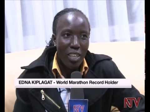 Athletics: Marathoner Edna Kiplagat is in the country