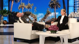 "Justin Timberlake told Ellen about his parenting woes as his 3-year-old son gave him a wake-up call to remember. Plus, Justin talks about his viral ""It's Gonna Be May"" meme and doing a lot of ""lifting"" with wife Jessica Biel."