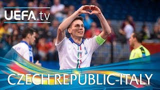 Futsal EURO Highlights: Watch Italy hit seven