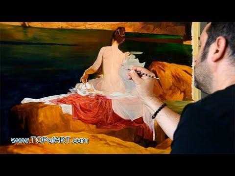 Calypso's Isle   Herbert Draper   Art Reproduction Oil Painting