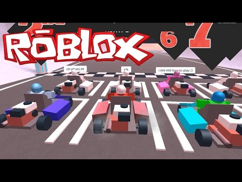 MY FIRST KART RACE!! The Plaza | Roblox Video