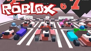 my first kart race the plaza   roblox video