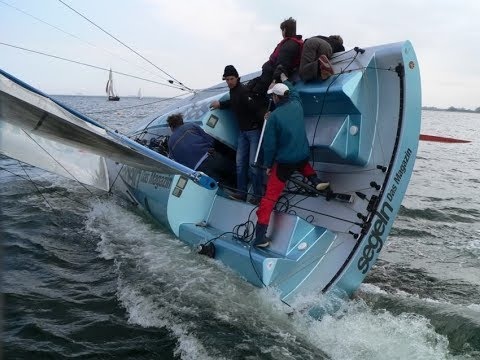 "EXTREME SAILING veleggiare a 35 knots NODI ""esperienza a palate"""