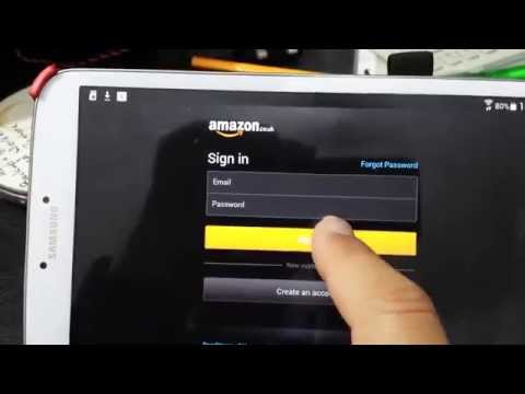 Amazon App Store App Hangs on Sign-on Screen