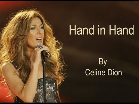 Celine Dion - Hand in Hand (Audio with Lyrics)