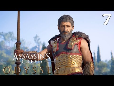 Assassin's Creed Odyssey 100% Complete Walkthrough: Part 7 - Learning the Ropes & A Journey to War