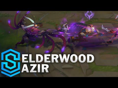 Elderwood Azir Skin Spotlight - Pre-Release - League of Legends
