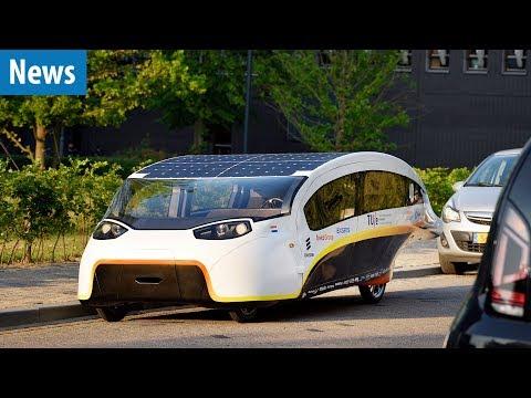 Mit 130 KM/H durch die Wüste | Solar Auto Stella Vie