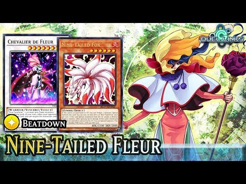 Fire King Fleur ft  Nine-Tailed Fox! | [Duel Links] - YouTube