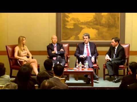 Real Estate Panel Discussion featuring Anthony Malkin '80, Barry Sternlicht & Ivanka Trump '00