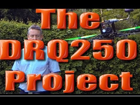 The DRQ250 Project - Build, tips and maiden flight (AKA Mini D)