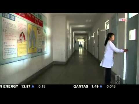 Footage shows starving North Korean children