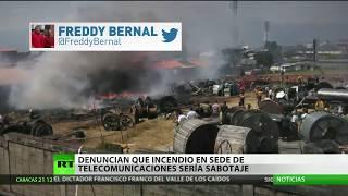 Se registra un incendio en empresa pública venezolana ubicada en un estado fronterizo con Colombia