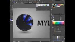 Применение стилей графики в Adobe Illustrator