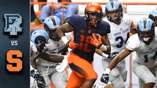 Rhode Island vs Syracuse | 2015 ACC Football Highlights