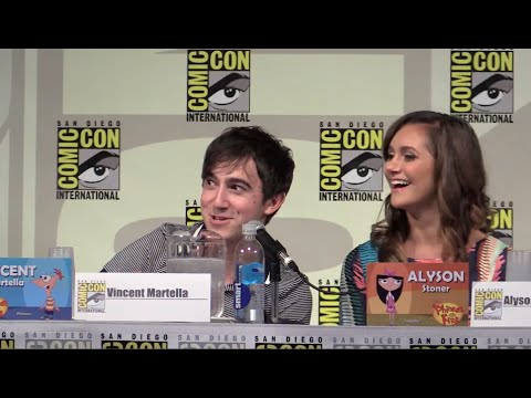 FULL Phineas and Ferb panel at San Diego Comic-Con 2014 - Inside the Magic  - 6sTSyoHCcTw -