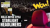 Diy headliner starry sky youtube 209 fandeluxe Choice Image