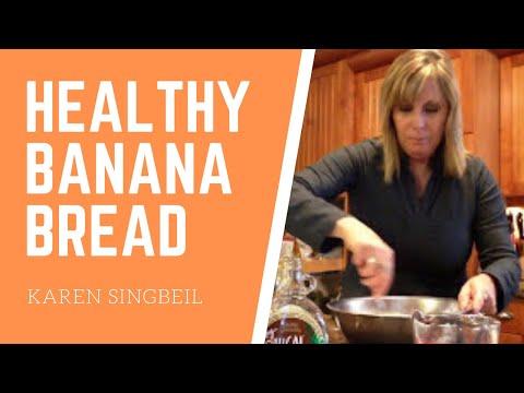 Healthy Banana Bread Recipe Made W/ Applesauce | Quick & Easy