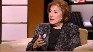 بالفيديو.. سميحة أيوب: حافظ الأسد هو من لقبني بـ«سيدة المسرح»