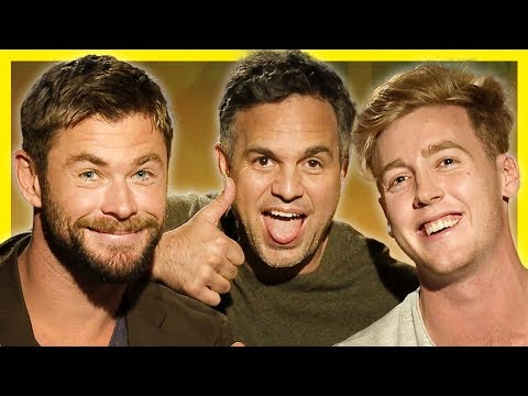 CHRIS HEMSWORTH TURNS ME INTO A SUPERHERO ft MARK RUFFALO (THOR RAGNAROK) HD