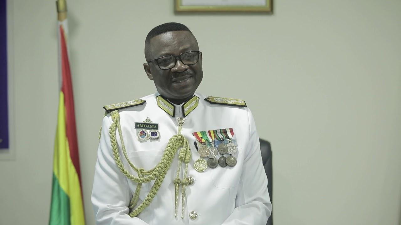 Rear Admiral Seth Amoama, Chief of Naval Staff, Ghana Navy
