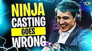 NINJA CASTING GOES WRONG?! I FINALLY LOST! (Fortnite: Battle Royale)