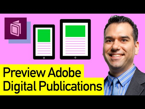 Adobe Digital Publishing Suite (DPS): Preview DPS Publications with Adobe Content Viewer App