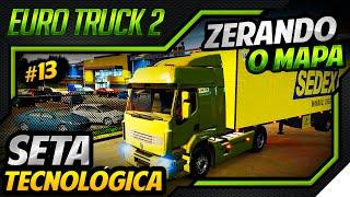 Euro Truck Simulator 2 - Seta Tecnologica - Mod Mapa DLC Scandinavia