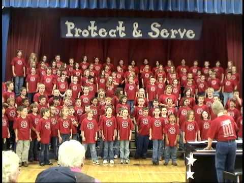 Minneapolis Grade School Veteran's Day Program 11/12/2009