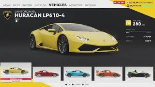 The Crew 2 - Street Race Result Summary + Lamborghini Huracan Setup / Pro Tuning
