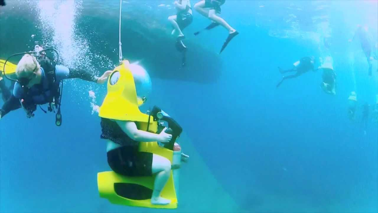 Diving Scuba 2 Gopro Hero