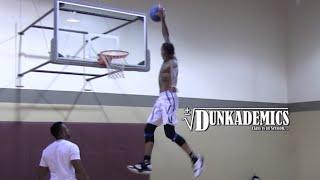 "Jordan ""Take Flight"" Southerland Jumps HIGH!! Dunkademics Video"