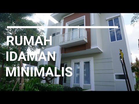 rumah minimalis: desain modern dan klasik (2 lantai luas 8