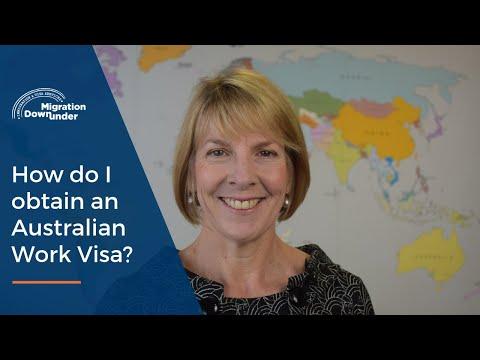 How To Obtain A Work Visa For Australia?