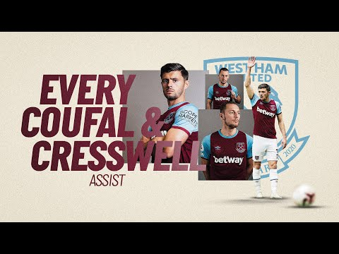 EVERY AARON CRESSWELL & VLADIMÍR COUFAL ASSIST FOR WEST HAM