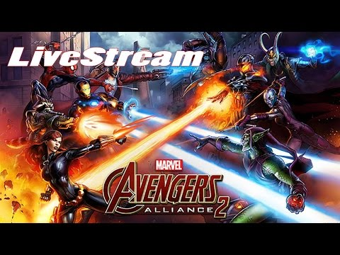 Marvel: Avengers Alliance 2 (by Marvel Entertainment)  - iOS / Android - HD LiveStream