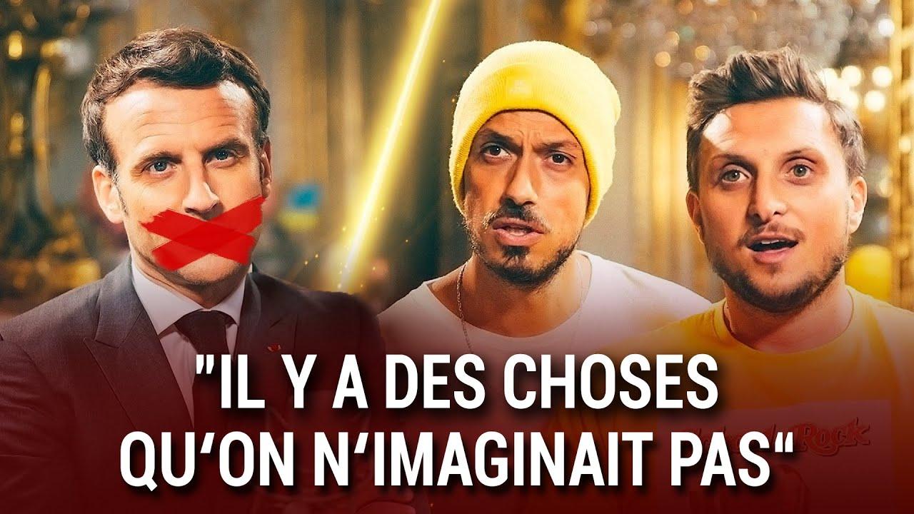 Ce que Macron n'a pas dit à Mcfly et Carlito !